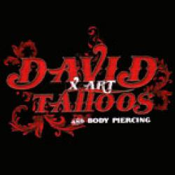 DAVID X - ART TATTOOS AND BODY PIERSING