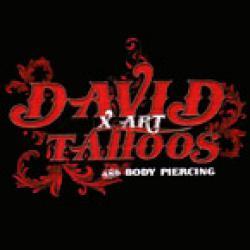 DAVID X - ART TATTOOS AND BODY PIERSING